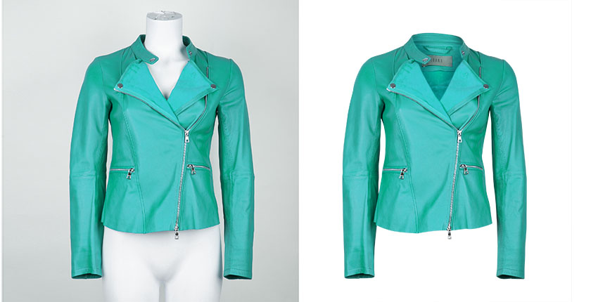 Ghost Mannequin Effect for Apparel Products