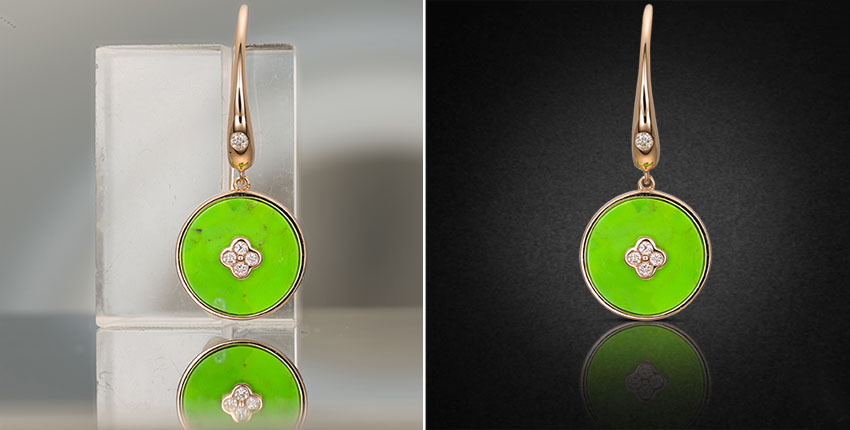Background Removal for Jewelry Photo