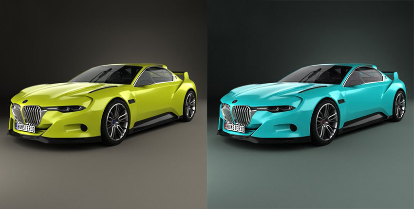 Car Image Color Correction