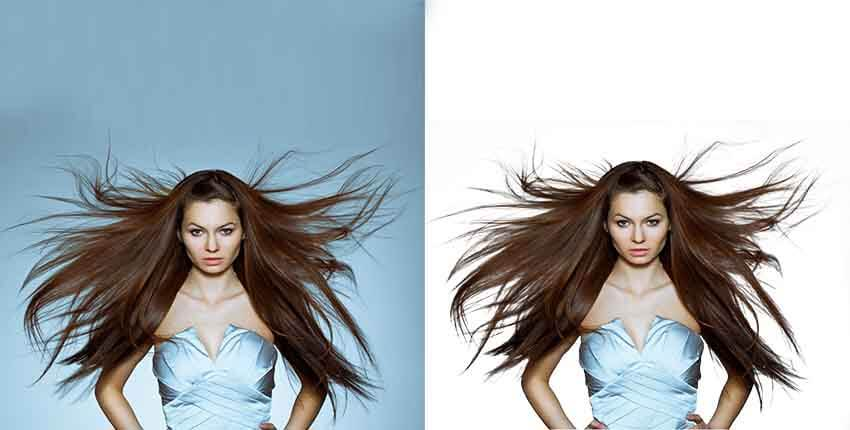 hair mask photoshop