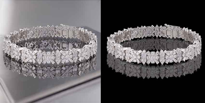 jewelry mirror effect service