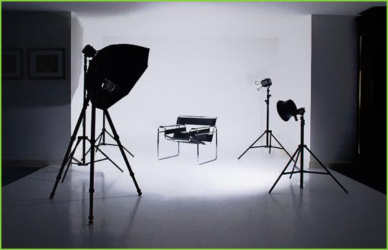 How to use umbrella lights for product photography