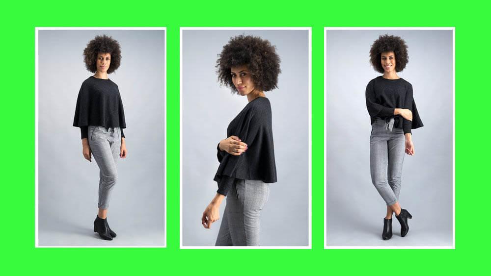 clothing model photography