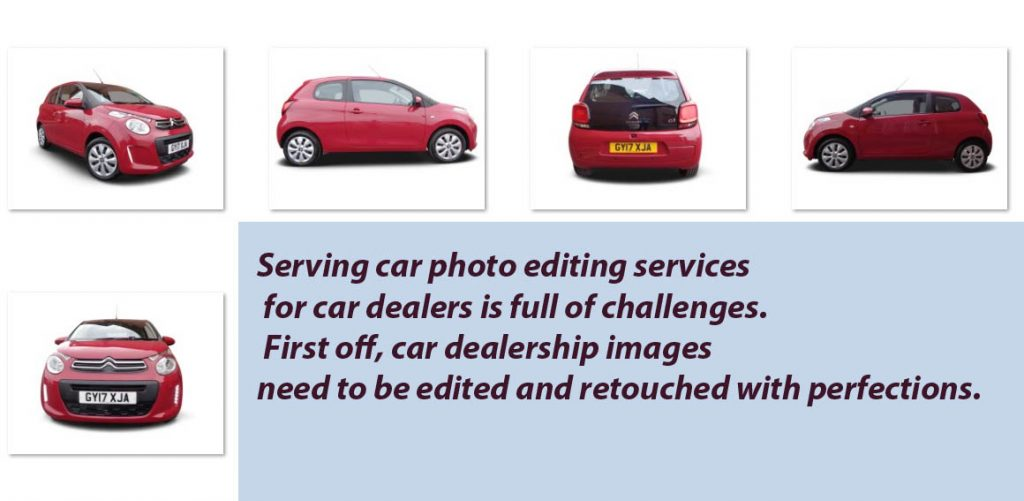 Challenges of Automotive Imagery editing